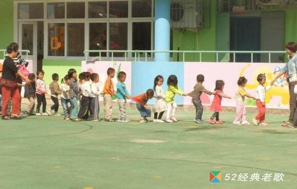 幼儿园儿歌《拉拉勾》